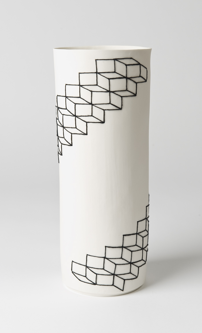 Staircase Porcelain Cylinder